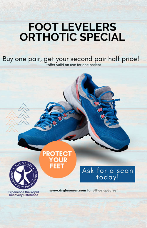Chiropractic St Charles IL Foot Levelers Special Offer